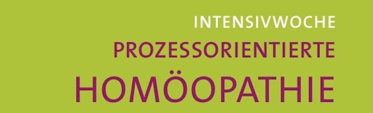Intensivwoche Prozessorientierte Homöopathie